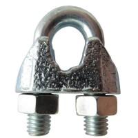 Зажим для стальных канатов оцинкованный DIN 741 3 мм