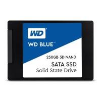 """SSD жесткий диск SATA2.5"""" 250GB TLC BLUE WDS250G2B0A WDC"""