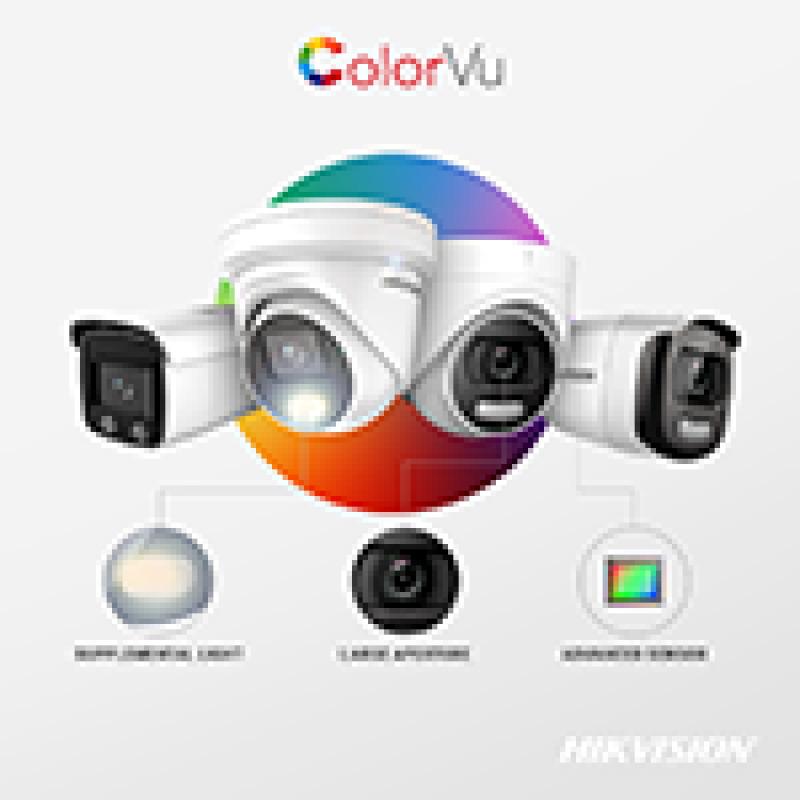 Новые камеры Hikvision с технологией ColorVu