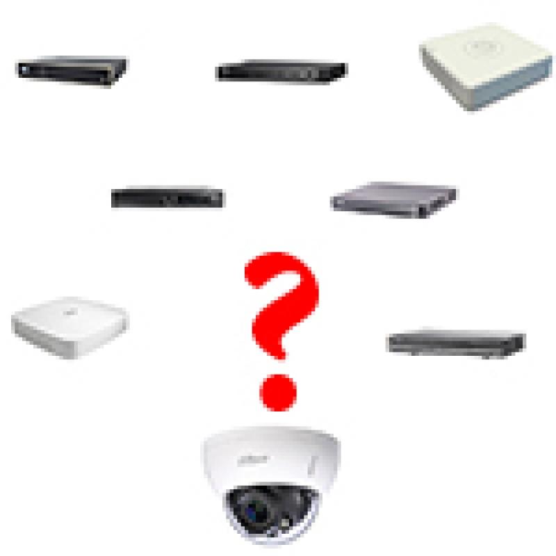 Как выбрать видеорегистратор для видеокамер?