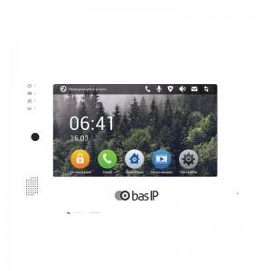 IP видеодомофон BAS-IP AP-07L WHITE цена