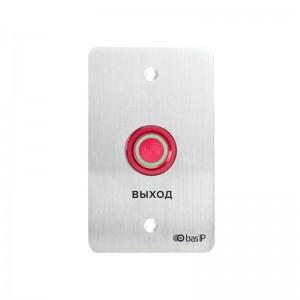 Кнопка выхода BAS-IP SH-45R SILVER цена