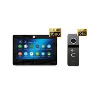 Комплект видеодомофона NeolightALPHA HD Black / Solo FHD Graphite