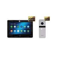 Комплект видеодомофона NeolightALPHA HD Black / Solo FHD Silver