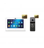 Комплект видеодомофона NeolightALPHA HD / Solo FHD Graphite