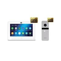 Комплект видеодомофона NeolightALPHA HD / Solo FHD Silver
