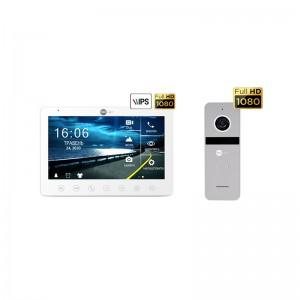 Комплект видеодомофона NeolightGAMMA HD / Solo FHD Silver