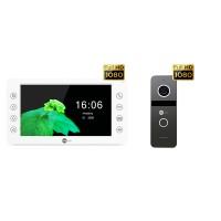 Комплект видеодомофона NeolightKAPPA HD / Solo FHD Graphite