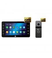 Комплект видеодомофона NeolightKAPPA+ HD Black / Solo FHD Graphite