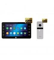 Комплект видеодомофона NeolightKAPPA+ HD Black / Solo FHD Silver