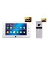Комплект видеодомофона NeolightKAPPA+ HD / Solo FHD Silver