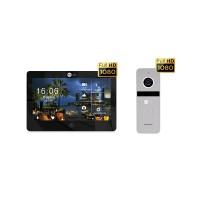 Комплект видеодомофона NeolightMEZZO HD Black / Solo FHD Silver