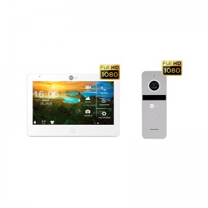 Комплект видеодомофона NeolightMEZZO HD / Solo FHD Silver