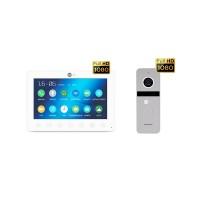 Комплект видеодомофона NeolightOMEGA+ HD / Solo FHD Silver