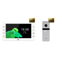 Комплект видеодомофона NeolightKAPPA HD / Solo FHD Silver