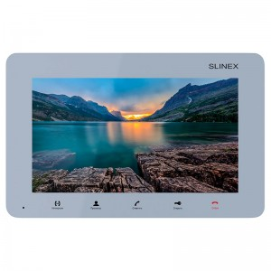 Видеодомофон Slinex SM-07M (silver)
