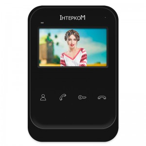 Видеодомофон Intercom IM-01 (black)