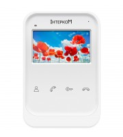 Видеодомофон Intercom IM-01 (white)