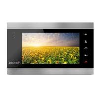 Видеодомофон Intercom IM-02 (black-silver)