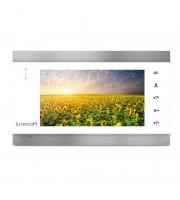Видеодомофон Intercom IM-02 (white-silver)