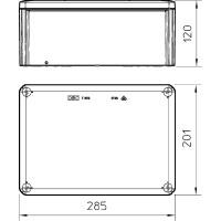 Распределительная коробка T350, закрытая
