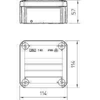 Распределительная коробка T60, закрытая