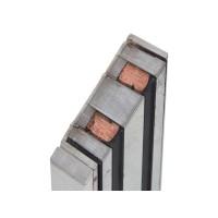 Электромагнитный замок YM-280(BLED) для системы контроля доступа