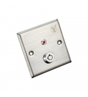 Кнопка выхода с ключом Yli Electronic YKS-850LS для системы контроля доступа