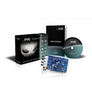 Плата видеорегистрации Line PCI 4x8 для систем видеонаблюдения
