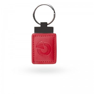 JA-194J-RE Кожаный жетон радиочастотной идентификации (RFID) - красный цена