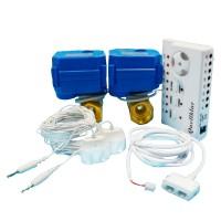 Комплект антизатопления 2 крана WLS-2-34-4