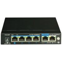 4-портовый неуправляемый POE коммутатор UTP3-GSW04-TPD60