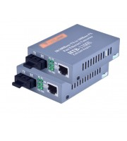 Медиаконвертер Пара HTB-GS-03 A/B 10/100/1000Mb,20Км, SC Порт