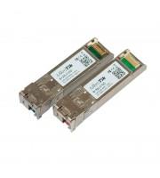 Пара SFP+ модулей S+2332LC10D