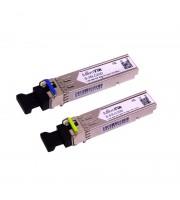 Пара оптических модулей SFP 1.25G S-3553LC20D