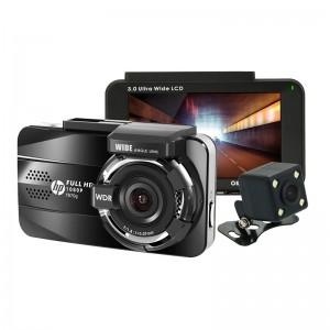 Автомобильный видеорегистратор HP f870g