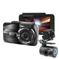 Автомобильный видеорегистратор HP f890g Dual Kit