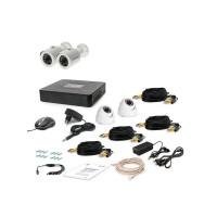 Комплект видеонаблюдения Tecsar 4OUT-MIX