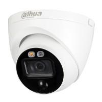 2 МП HDCVI видеокамера активного реагированияDH-HAC-ME1200EP-LED 2.8MM