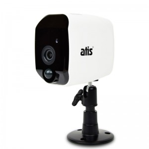 Автономная Wi-Fi IP видеокамера 2 Мп ATIS AI-142B для системы видеонаблюдения