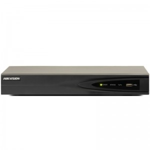4-х канальный сетевой видеорегистратор c PoE Hikvision DS-7604NI-E1/4P цена