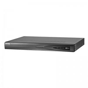 4-х канальный IP видеорегистратор c PoE Hikvision DS-7604NI-K1/4P цена