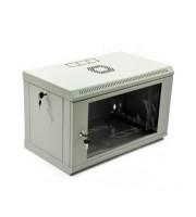 Настінна серверна шафа 6U економ, акрил (UA-MGSWL635G)