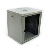 Настінна шафа 12U економ, акрил (UA-MGSWL126G)