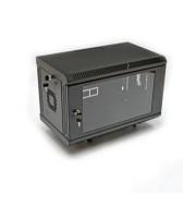 Телекомунікаційна настінна шафа 6U, акрил (UA-MGSWA65B)