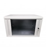 Серверный шкаф 12U, EServer 600х500х637 (Ш*Г*В), стекло, серый