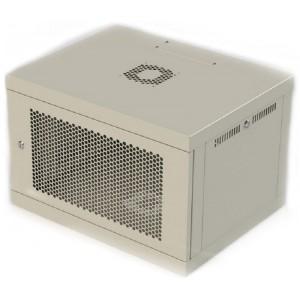 Шкаф серверный настенный 6U, 600x450x390 мм (Ш * Г * В), перфорированные двери