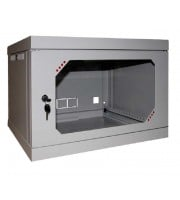 Шкаф серверный настенный 9U, 570x580x500 мм (Ш * Г * В), акрилл