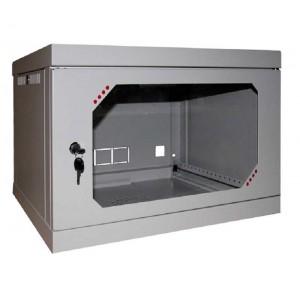 Шкаф серверный настенный 6U, 570x580x390 мм (Ш * Г * В), акрилл