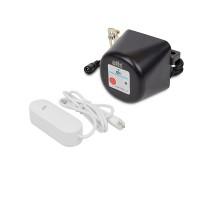 Комплект защиты от протечки воды: беспроводной датчик затопления ATIS-700DW-T и электропривод для шарового крана ATIS-TC34 с поддержкой Tuya Smart